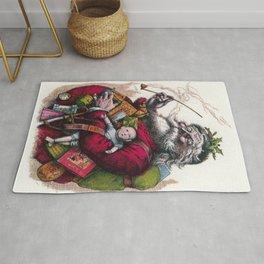 Victorian Santa Claus - Thomas Nast Rug