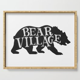 Bear Village - Grizzly Serving Tray