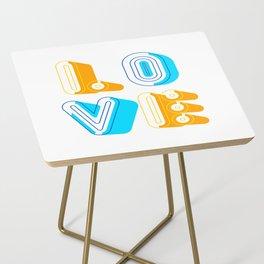 Love [illustration] Side Table