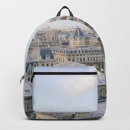 Paris from Above | Eiffel Tower View | Europe Travel Photography Backpack