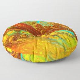 Fire Floor Pillow