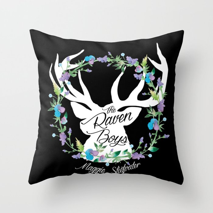 The Raven Boys by Maggie Stiefvater Throw Pillow