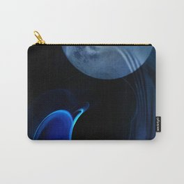 Dolphin Abstract Carry-All Pouch