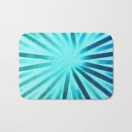 Intersecting-Aqua Bath Mat