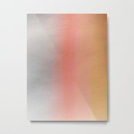 Sunset Stripe Metal Print