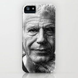 Anthony Bourdain iPhone Case