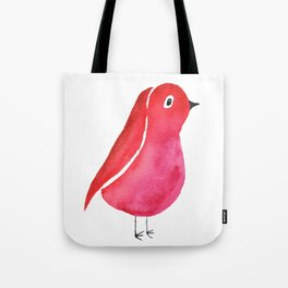 Fuchsia Bird Tote Bag
