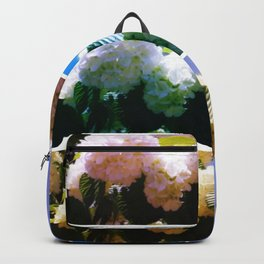 Snowball Branch Collage (I) Backpack
