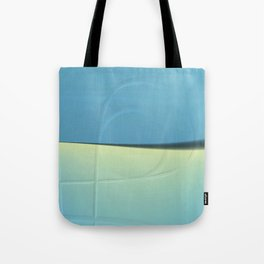 Pattern shadows in blue Tote Bag