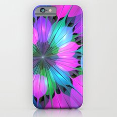 Colorful and Luminous Fractal iPhone 6 Slim Case