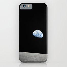 Apollo 8 - Iconic Earthrise Photograph iPhone Case