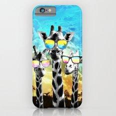 Crazy Cool Giraffe iPhone 6s Slim Case