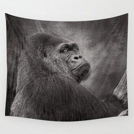 Gorilla. Silverback. BN Wall Tapestry