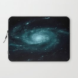Spiral gALAxy Teal Laptop Sleeve