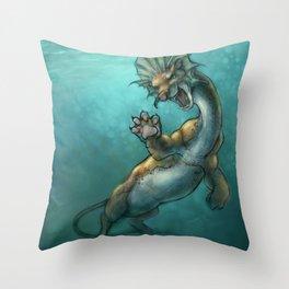 Oddity - Fantasy Sea Beast Throw Pillow