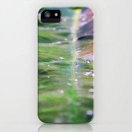 Rainbow Drops iPhone Case
