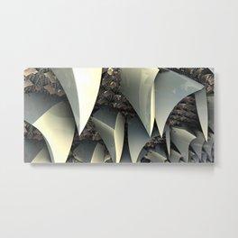 Sandpaper Teeth IFS Metal Print