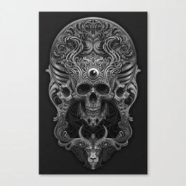 Skull Ornate Canvas Print