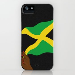 Jamaica Wave iPhone Case