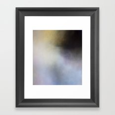 Submarine Dark Abstract Landscape Framed Art Print