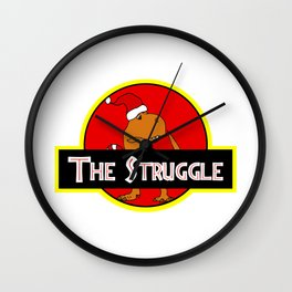The Struggle Park (Merry Christmas) Wall Clock