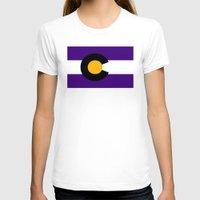 colorado T-shirts featuring Colorado by vinnyandthejets