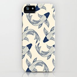 Koi Traditional Japanese Inspired 1 iPhone Case