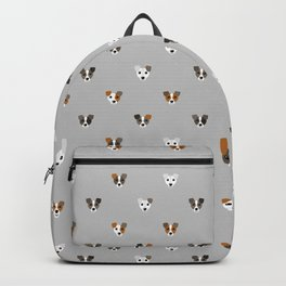 Jack Russell puppies Backpack