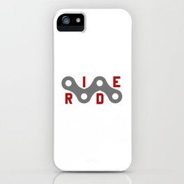 Ride (Chain) iPhone Case
