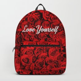 Love Yourself & Roses Backpack