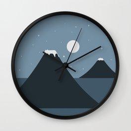 Cat Landscape 44 Wall Clock