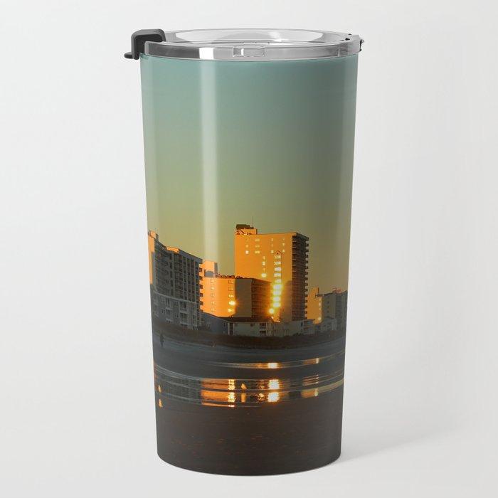 Skyline Evening Travel Mug