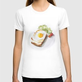 egg toast T-shirt