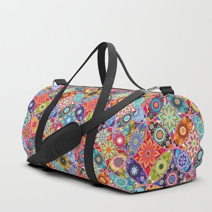 Moroccan bazaar Duffle Bag
