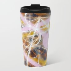 circles Metal Travel Mug