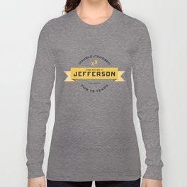 State of Jefferson 75th Anniversary Logo Long Sleeve T-shirt