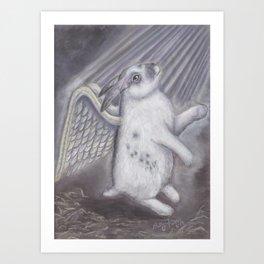 Bunny Heaven Art Print