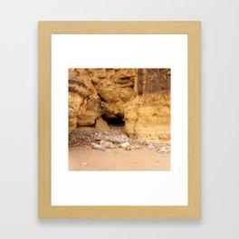 Marsden Cave Framed Art Print