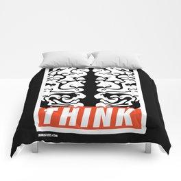 thinkDifferently Comforters