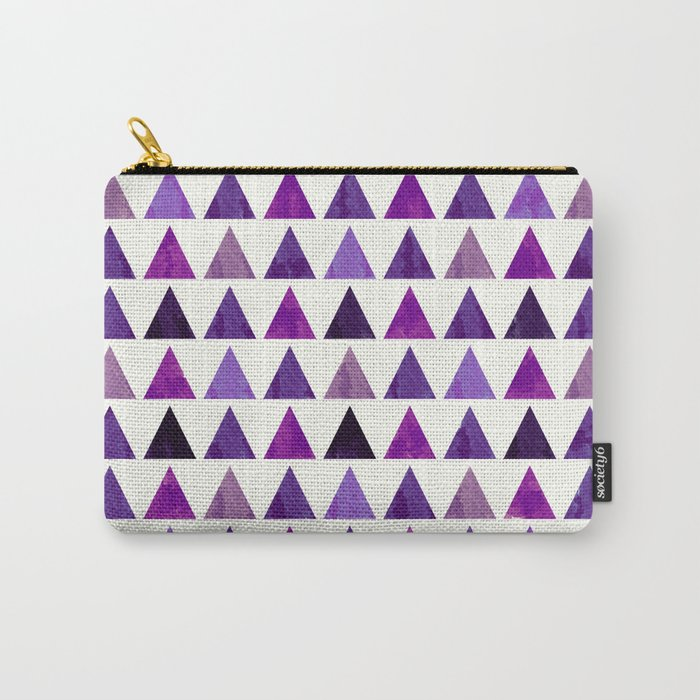 Lovely Geometric Pattern II Carry-All Pouch