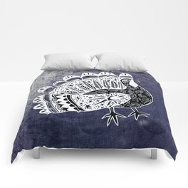 Mystic Turkey Comforters