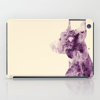 doberman iPad Cases featuring Doberman Sightings by Elaine Chou