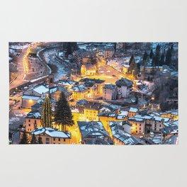 Christmas Village Rug
