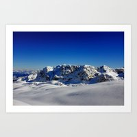 Dolomite View 2 Art Print