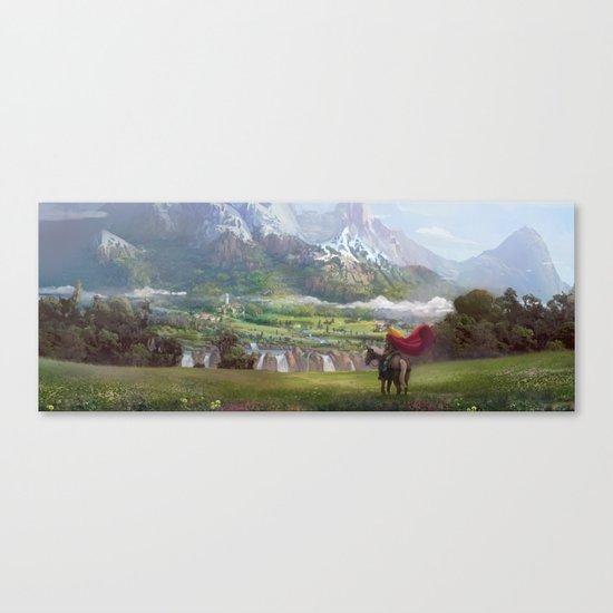EPic vista  Canvas Print