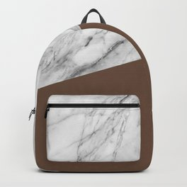 Marble with Emperador Color Backpack