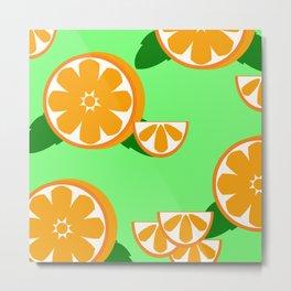 Come Orange'inal Metal Print
