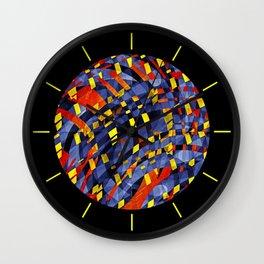 Aqua Lava Wall Clock