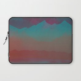 Ombre Mountainscape (Sunset Colors) Laptop Sleeve