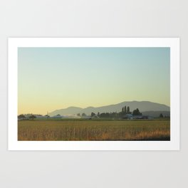 Back from Bellingham #2 Art Print